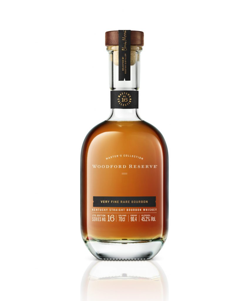 Woodford Reserve 2020 Master's Collection Very Fine Rare Bourbon bottle