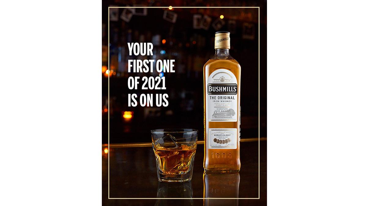 Bushmills Irish Whiskey First Whiskey 2021