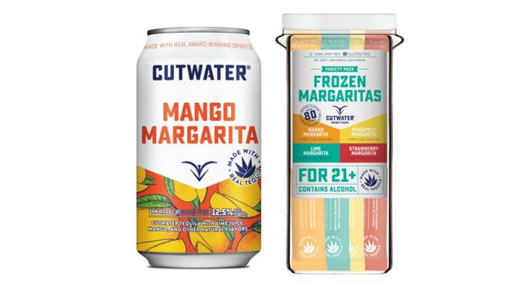 Cutwater Spirits Unveils Fruit-forward Margarita Lineup, Releases Mango