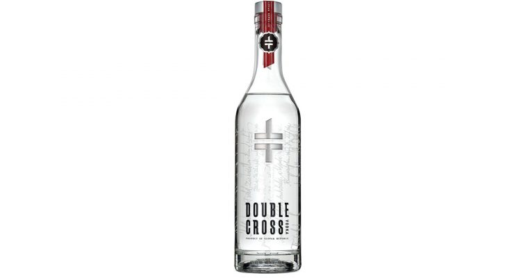 Double Cross Vodka new bottle