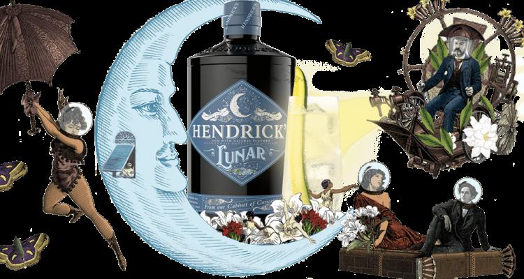 Hendrick's Lunar Gin 2021 Moonbathing