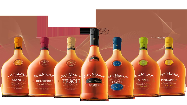 Paul Masson Brandy Sazerac Constellation Brands
