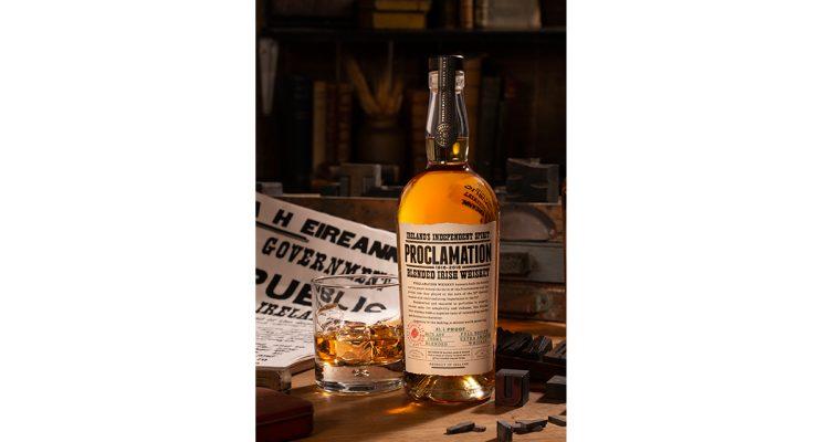 Proclomation Irish Whiskey Inauguration