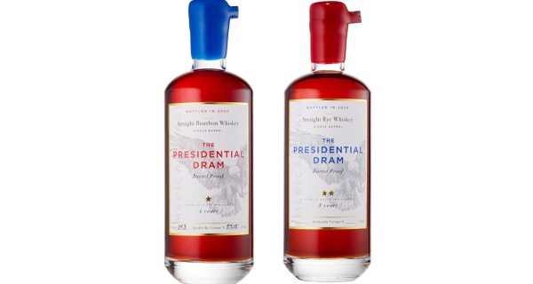 Proof And Wood Presidential Dram Rye And Bourbon Whiskeys