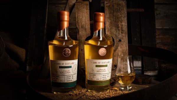 Stirling Distillery Inaugural Whiskies, The Cashly And The Arngibbon