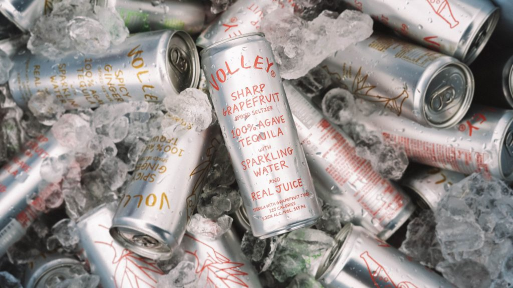 Volley Hard Seltzer Feature