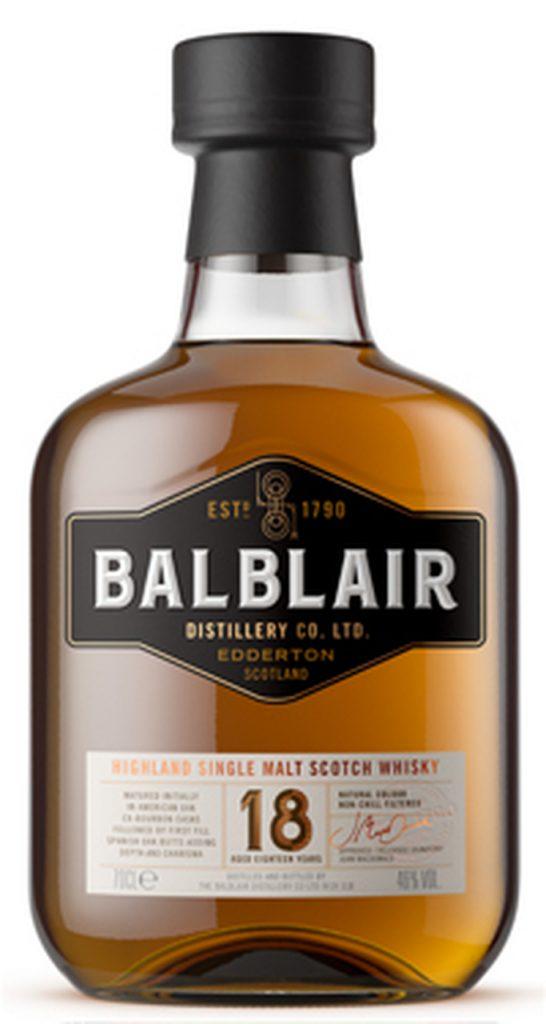 balblair 18 yo Best Scotch Whiskies Burns Night 2021