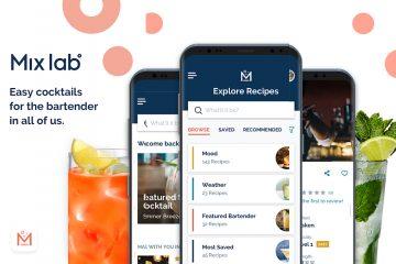 Bacardi Mix Lab Cocktail App
