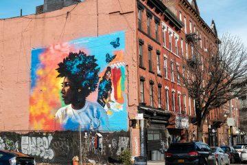 Ciroc Love Watts - NYC Mural