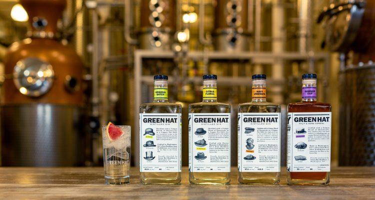 Green Hat Gin Distribution