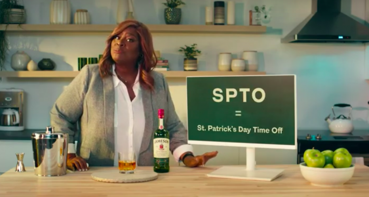 Jameson Is Paying Fans to Take Off On St Patrick's Day - SPTO