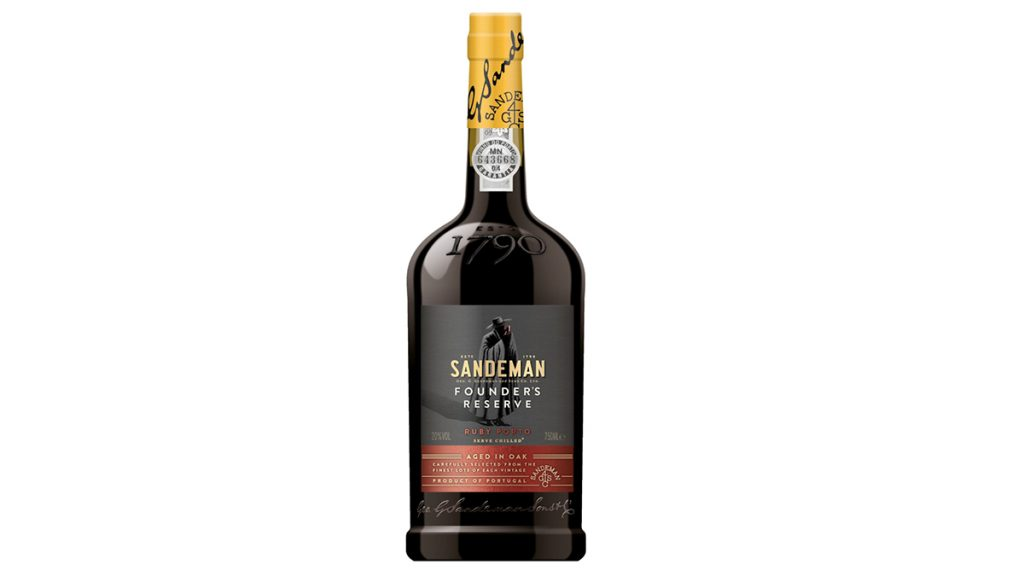 Last Minute Valentine's Day Gift Guide - Sandeman Founder's Reserve