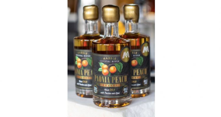Marble Paonia Peach Brandy