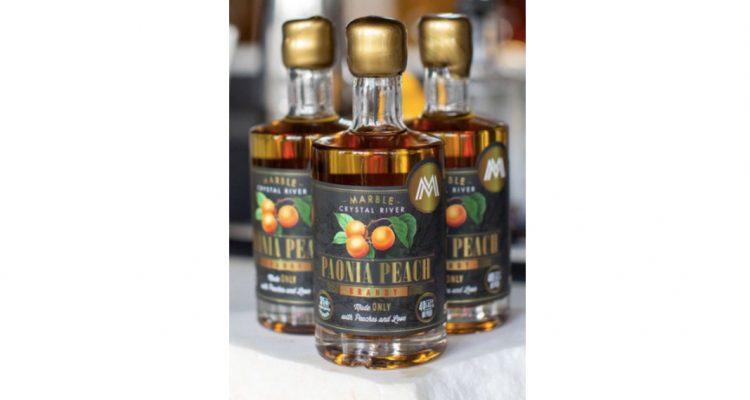 Marble Paonia Peach Brandy