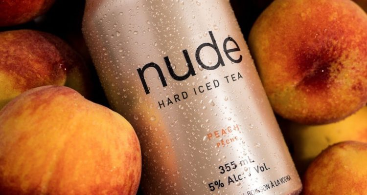 Nude Beverages peach