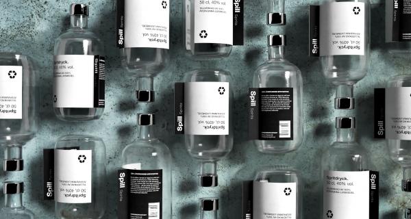 Spill Vodka - Food Waste Alcohol