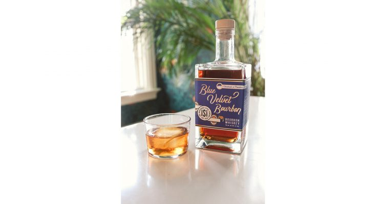 The Industrious Spirit Company Blue Velvet Bourbon