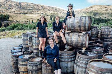 New Zealand Whisky Cardrona-distilling-team