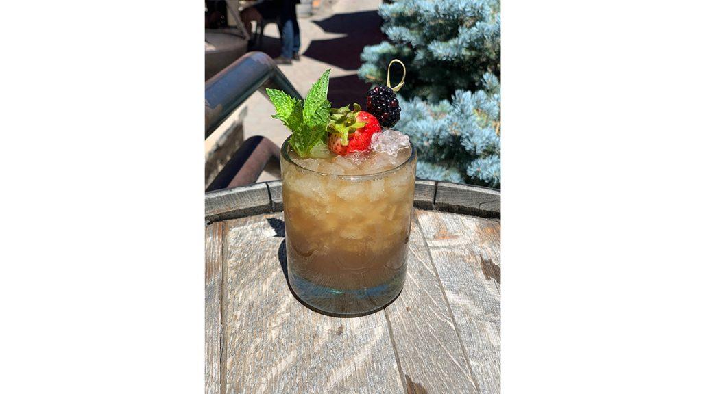 High West Cobbler - National Cocktail Day 2021