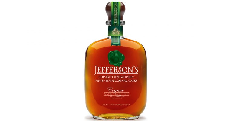 Jefferson's Rye Cognac Cask Finish