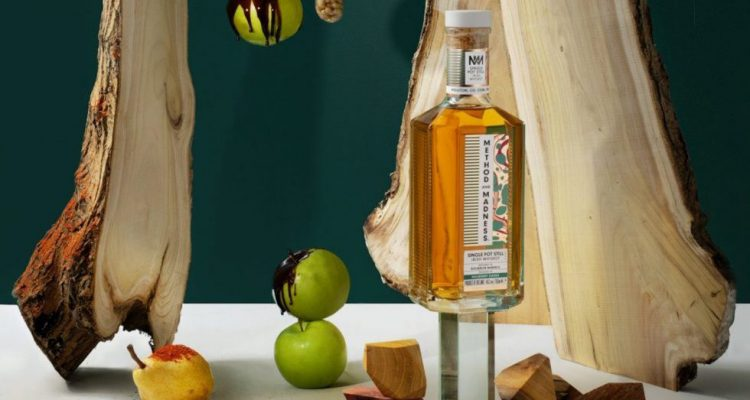 Method And Madness Mulberry Wood Irish Whiskey