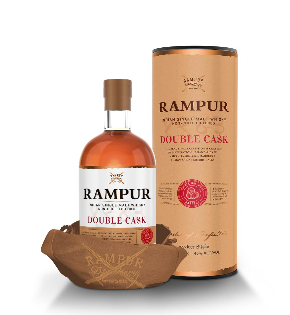 Rampur Double Cask with pouch