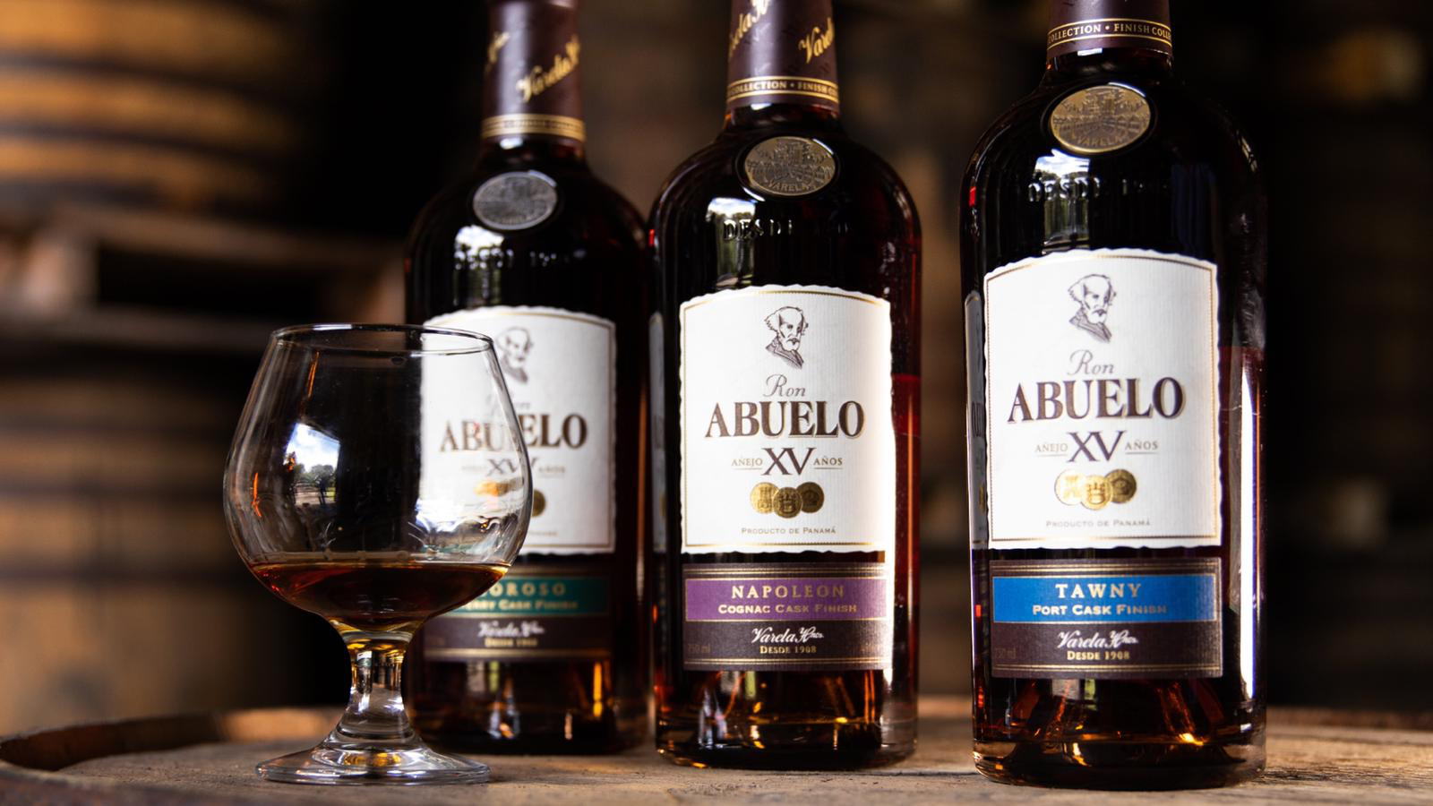 Ron Abuelo Finish Collection on Barrel