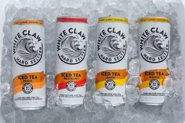 White Claw Hard Seltzer Iced Tea