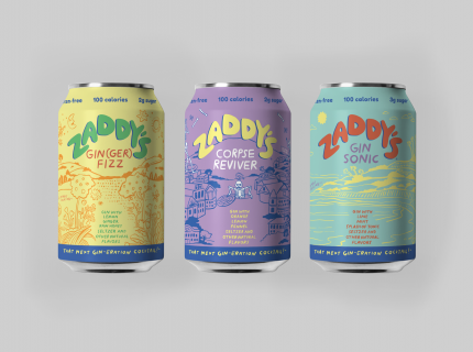 zaddy's canned cocktails