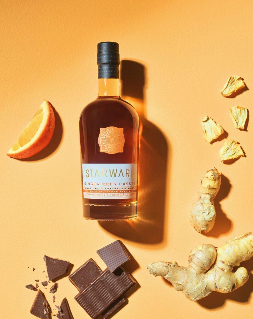 Starward Whisky Ginger Beer Cask #6 vertical