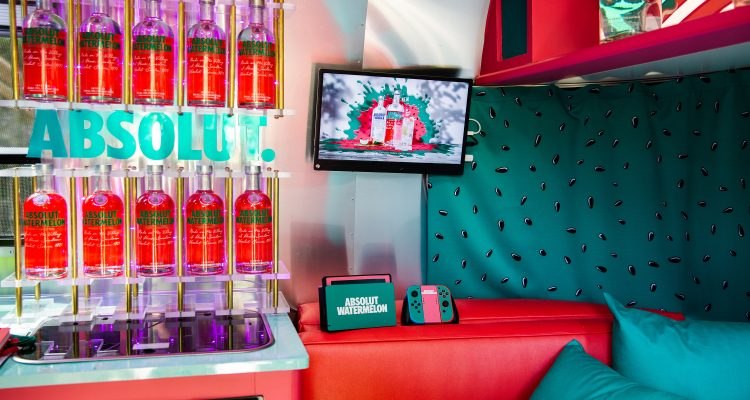 Absolut Watermelon Fresh Escape interior