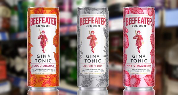 Beefeater Gin and Tonic Cans