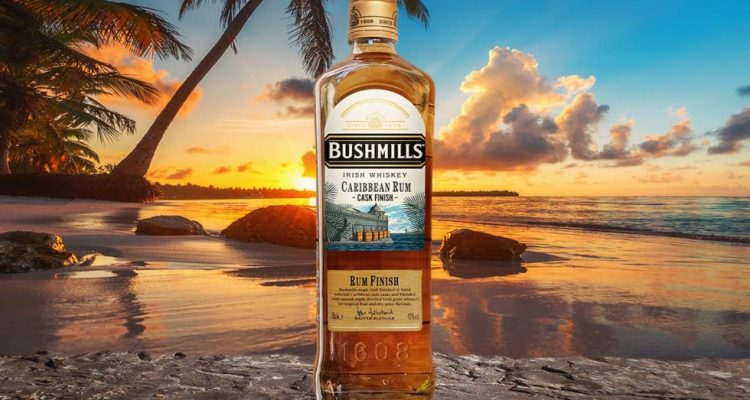 Bushmills Caribbean Rum Cask Finish Whiskey
