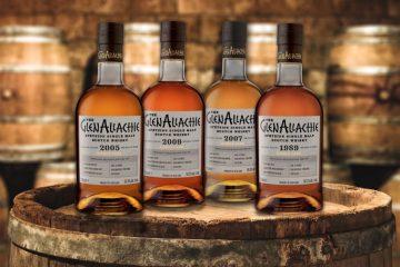 GlenAllachie single cask whiskies