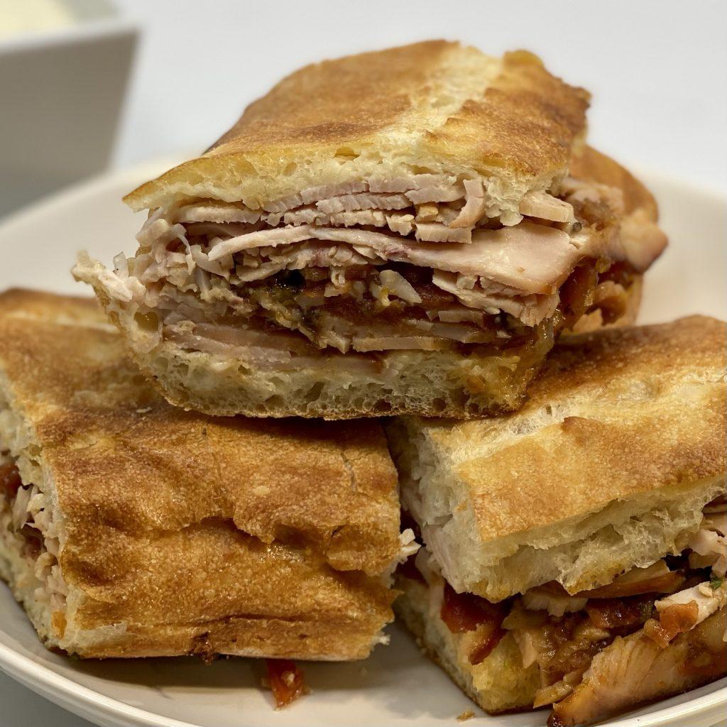 Woodford Reserve WeFeast sandwich