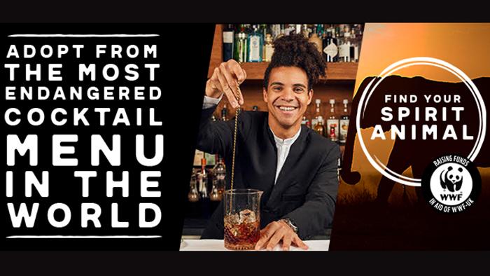 Most Endangered Cocktail Menu