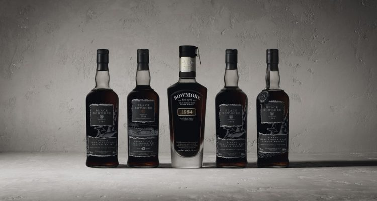 black bowmore 1964 collection