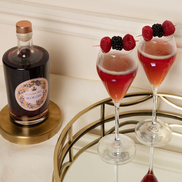 Buckingham Palace Sloe Gin cocktail