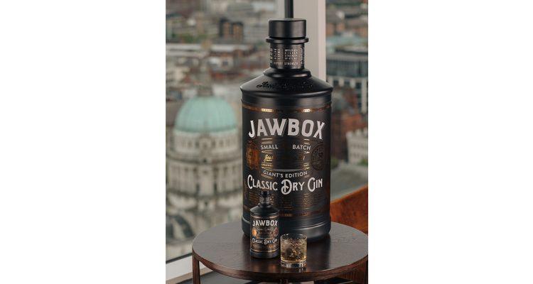 World's Largest Bottle of Gin - Jawbone
