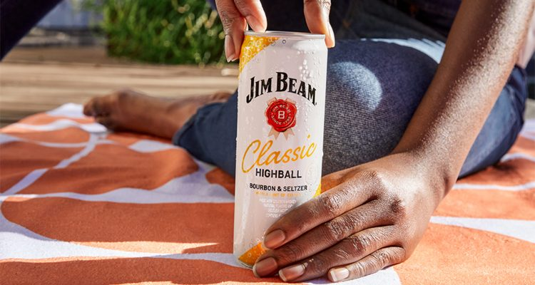 Jim Beam Highball Canned Cocktail