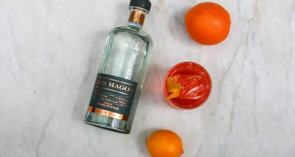 Los Magos Sotol orange