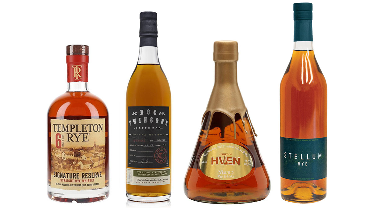 4 Best Rye Whiskeys In The World According To The 2021 New York International Spirits Competition