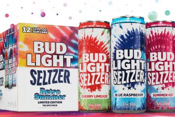 Bud Light Seltzer Retro Summer