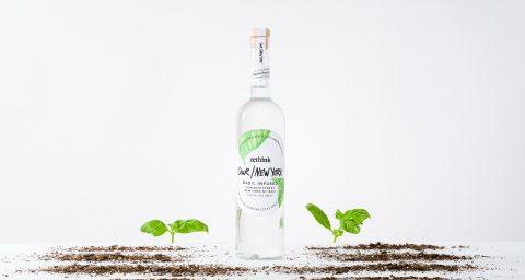 Our/New York Vodka Basil With Basil Dirt