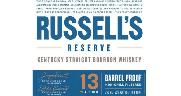 Russell's Reserve 13 Year Old Barrel Proof