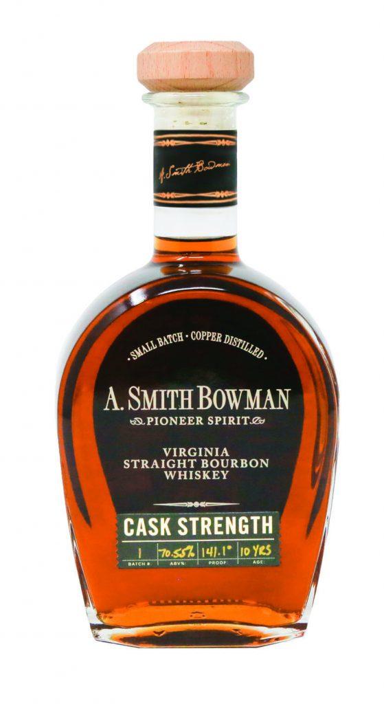 Smith Bowman Cask Strength bottle