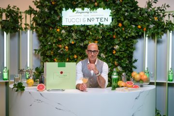 TANQUERAY TEN & STANLEY TUCCI ANNOUNCE GLOBAL PARTNERSHIP