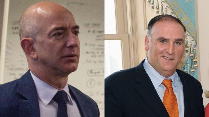 Jeff Bezos Jose Andres