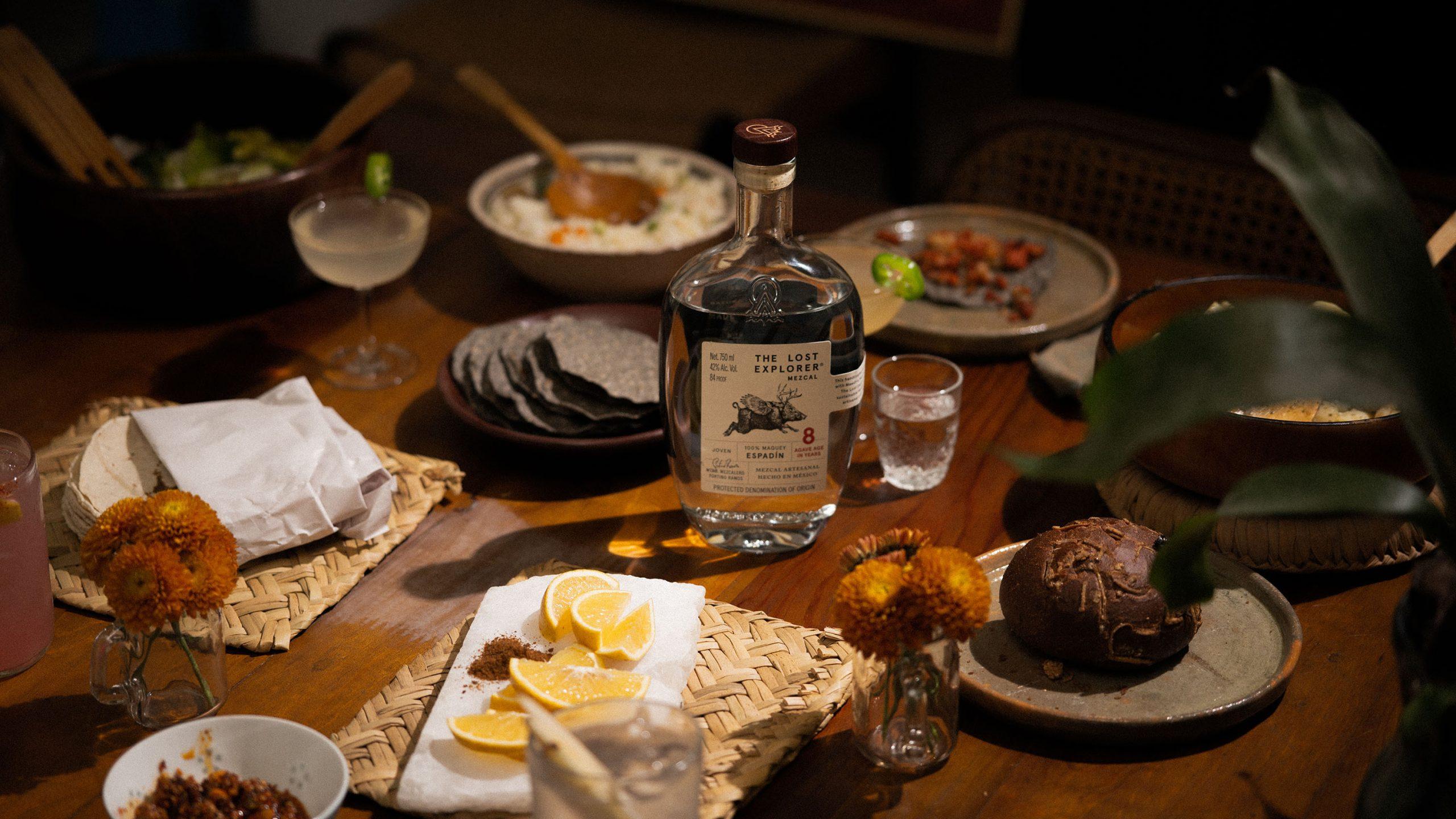 The Lost Explorer Mezcal Espadin Table