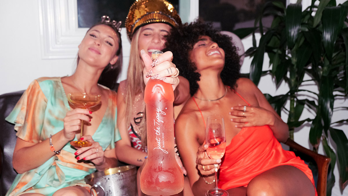 Just the Tipsy Unveils Penis-Shaped Wine Bottle